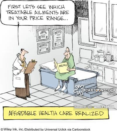 Image result for Cartoon high cost of medical care