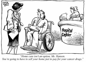 Cartoon Home Care