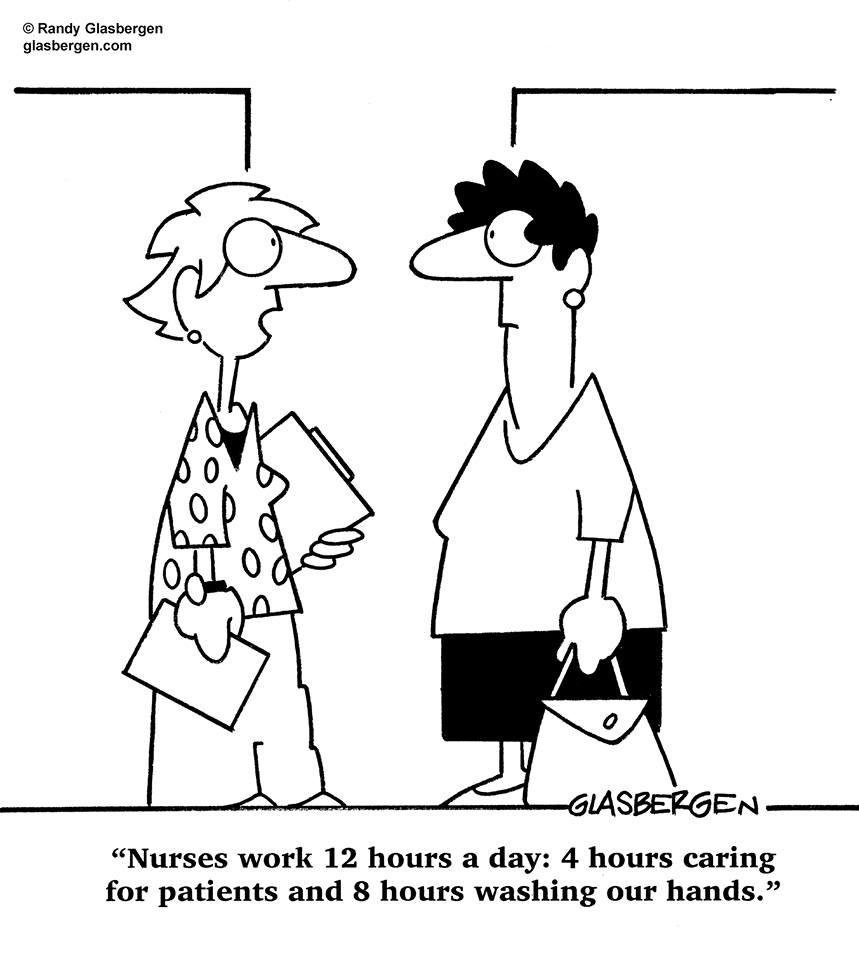 Cartoon Nursing Hours Henry Kotula