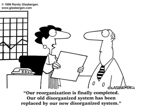 Image result for cartoon hospital reorganization