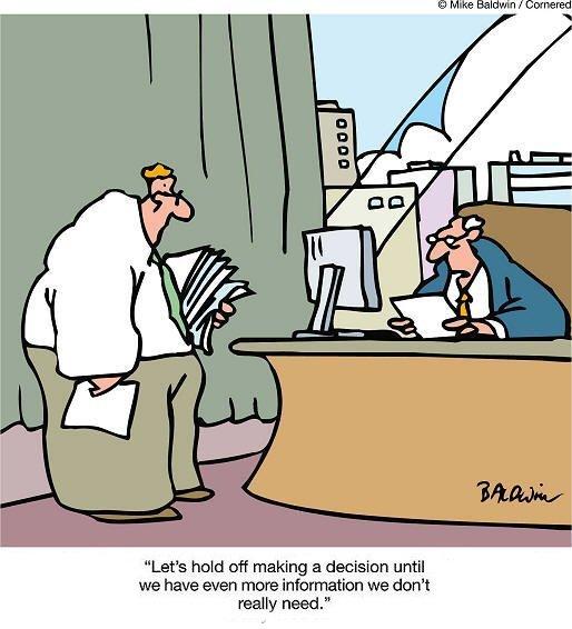 Cartoon – Decision Making | HENRY KOTULA