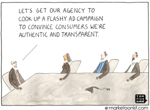 Cartoon Lets Get Our Agency