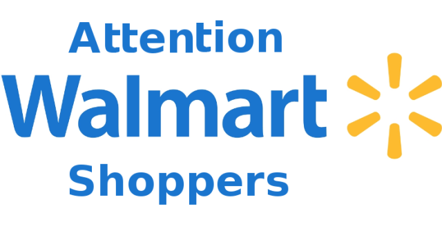 Image result for attention walmart shoppers