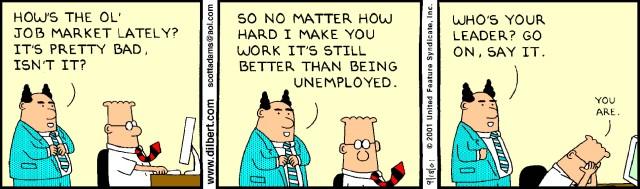 Cartoon – How's the ol' Job Market lately?   HENRY KOTULA