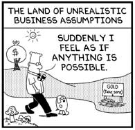 A Compound of Alchymie: Land of Unrealistic Business Assumptions