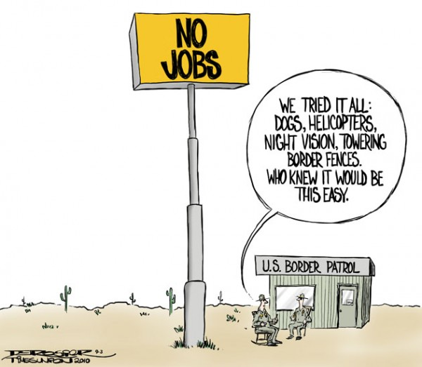Equality for Immigrants: Political Cartoon II